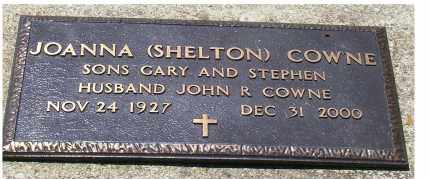 SHELTON COWNE, JOANNA - Highland County, Ohio | JOANNA SHELTON COWNE - Ohio Gravestone Photos
