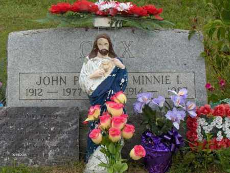 COX, MINNIE INIS - Highland County, Ohio | MINNIE INIS COX - Ohio Gravestone Photos