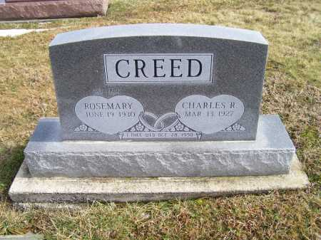 CREED, ROSEMARY - Highland County, Ohio | ROSEMARY CREED - Ohio Gravestone Photos