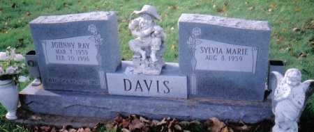 DAVIS, JOHNNY RAY - Highland County, Ohio | JOHNNY RAY DAVIS - Ohio Gravestone Photos