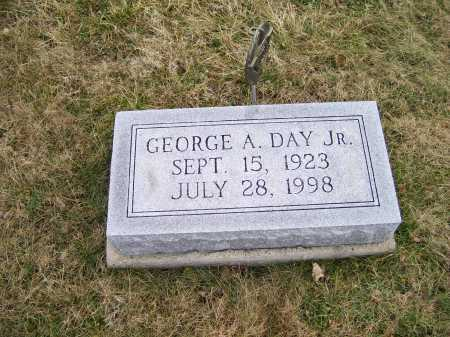 DAY, GEORGE A. JR. - Highland County, Ohio | GEORGE A. JR. DAY - Ohio Gravestone Photos