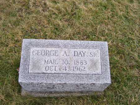 DAY, GEORGE A. SR. - Highland County, Ohio | GEORGE A. SR. DAY - Ohio Gravestone Photos