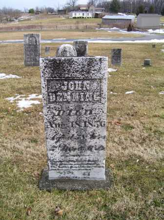 DENNING, JOHN - Highland County, Ohio | JOHN DENNING - Ohio Gravestone Photos