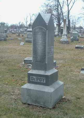 DEPOY, TIRZAH - Highland County, Ohio | TIRZAH DEPOY - Ohio Gravestone Photos