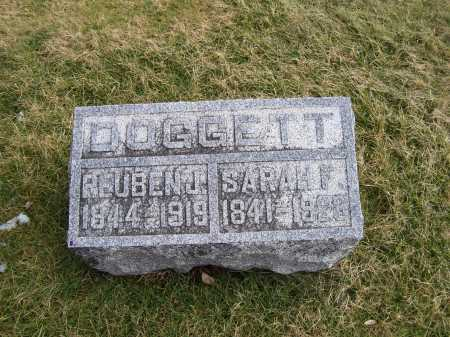 DOGGETT, REUBEN J. - Highland County, Ohio | REUBEN J. DOGGETT - Ohio Gravestone Photos