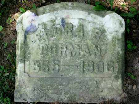 DORMAN, FLORA B. - Highland County, Ohio | FLORA B. DORMAN - Ohio Gravestone Photos