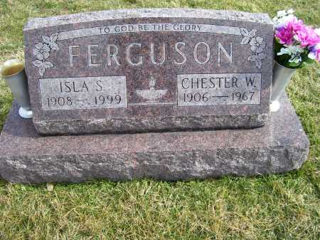 FERGUSON, CHESTER W. - Highland County, Ohio | CHESTER W. FERGUSON - Ohio Gravestone Photos
