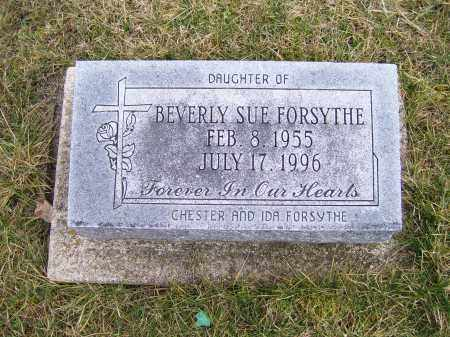 FORSYTHE, BEVERLY SUE - Highland County, Ohio | BEVERLY SUE FORSYTHE - Ohio Gravestone Photos