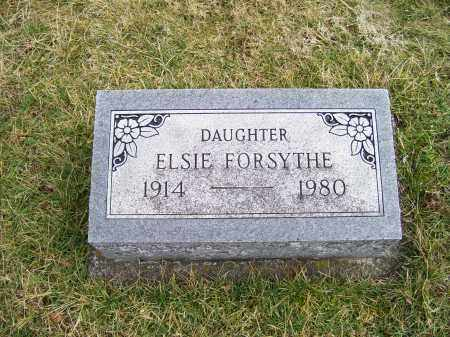 FORSYTHE, ELSIE - Highland County, Ohio | ELSIE FORSYTHE - Ohio Gravestone Photos
