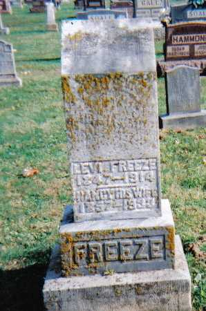 FREEZE, LEVI - Highland County, Ohio | LEVI FREEZE - Ohio Gravestone Photos