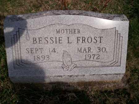 FROST, BESSIE L. - Highland County, Ohio | BESSIE L. FROST - Ohio Gravestone Photos
