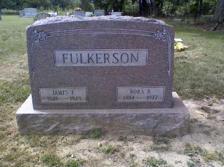 FULKERSON, JAMES F. - Highland County, Ohio | JAMES F. FULKERSON - Ohio Gravestone Photos