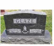 GLAZE, S. LLOYD - Highland County, Ohio | S. LLOYD GLAZE - Ohio Gravestone Photos