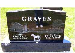 GRAVES, ELIZABETH - Highland County, Ohio | ELIZABETH GRAVES - Ohio Gravestone Photos