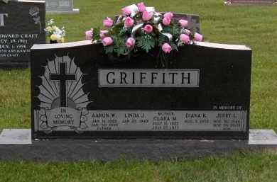 GRIFFITH, CLARA MAE - Highland County, Ohio | CLARA MAE GRIFFITH - Ohio Gravestone Photos
