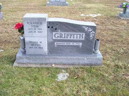 GRIFFITH, VELMA M. (BETTY) - Highland County, Ohio | VELMA M. (BETTY) GRIFFITH - Ohio Gravestone Photos