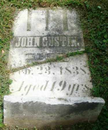 GUSTIN, JOHN - Highland County, Ohio | JOHN GUSTIN - Ohio Gravestone Photos