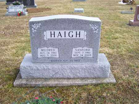 HAIGH, MILDRED - Highland County, Ohio | MILDRED HAIGH - Ohio Gravestone Photos