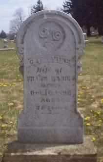 HARRIS, CATHERINE - Highland County, Ohio | CATHERINE HARRIS - Ohio Gravestone Photos