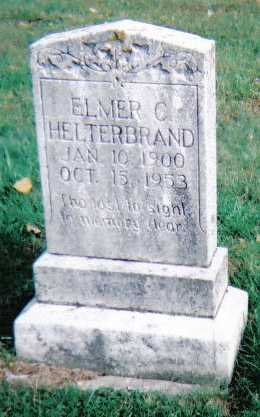 HELTERBRAND, ELMER C. - Highland County, Ohio | ELMER C. HELTERBRAND - Ohio Gravestone Photos