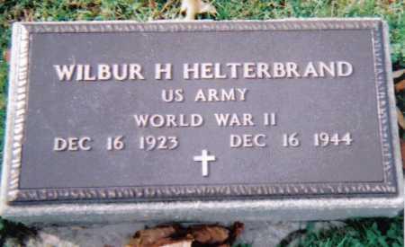 HELTERBRAND, WILBUR H. - Highland County, Ohio | WILBUR H. HELTERBRAND - Ohio Gravestone Photos