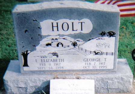 HOLT, I. ELIZABETH - Highland County, Ohio | I. ELIZABETH HOLT - Ohio Gravestone Photos