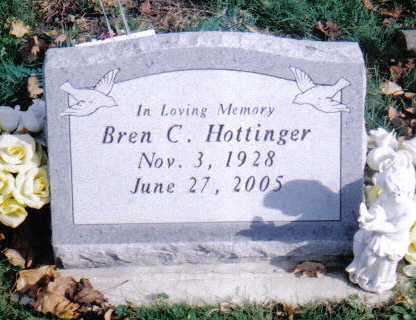 HOTTINGER, BREN C. - Highland County, Ohio | BREN C. HOTTINGER - Ohio Gravestone Photos