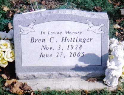 HOTTINGER, BREN C. - Highland County, Ohio | BREN C. HOTTINGER - Ohio Gravestone Photos