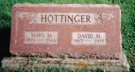 HOTTINGER, DAVID M. - Highland County, Ohio | DAVID M. HOTTINGER - Ohio Gravestone Photos