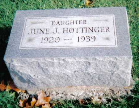 HOTTINGER, JUNE J. - Highland County, Ohio | JUNE J. HOTTINGER - Ohio Gravestone Photos