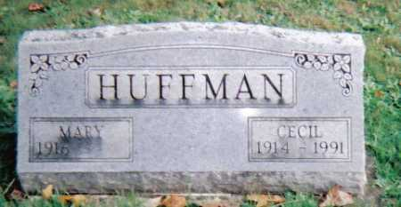 HUFFMAN, MARY - Highland County, Ohio | MARY HUFFMAN - Ohio Gravestone Photos