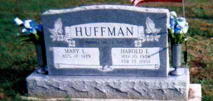 HUFFMAN, MARY L. - Highland County, Ohio | MARY L. HUFFMAN - Ohio Gravestone Photos