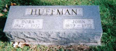 HUFFMAN, DORA - Highland County, Ohio | DORA HUFFMAN - Ohio Gravestone Photos