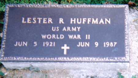HUFFMAN, LESTER R. - Highland County, Ohio | LESTER R. HUFFMAN - Ohio Gravestone Photos