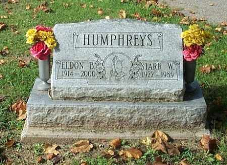 HUMPHREYS, ELDON B. - Highland County, Ohio | ELDON B. HUMPHREYS - Ohio Gravestone Photos