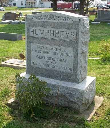 GRAY HUMPHREYS, GERTRUDE - Highland County, Ohio | GERTRUDE GRAY HUMPHREYS - Ohio Gravestone Photos