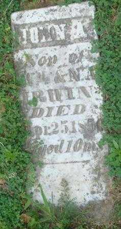 IRWIN, JOHN A. - Highland County, Ohio | JOHN A. IRWIN - Ohio Gravestone Photos