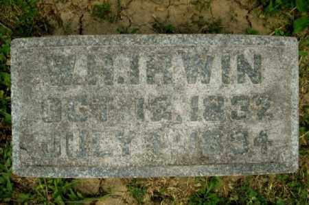 IRWIN, WILLIAM HARVEY (AKA W. H.) - Highland County, Ohio | WILLIAM HARVEY (AKA W. H.) IRWIN - Ohio Gravestone Photos