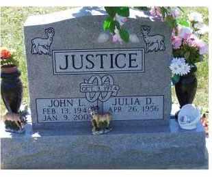 JUSTICE, JULIA D. - Highland County, Ohio | JULIA D. JUSTICE - Ohio Gravestone Photos