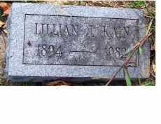 KAIN, LILLIAN J. - Highland County, Ohio | LILLIAN J. KAIN - Ohio Gravestone Photos