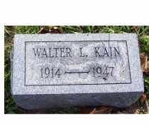 KAIN, WALTER L. - Highland County, Ohio | WALTER L. KAIN - Ohio Gravestone Photos