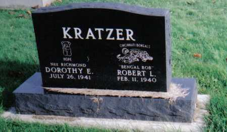 KRATZER, DOROTHY E. - Highland County, Ohio | DOROTHY E. KRATZER - Ohio Gravestone Photos