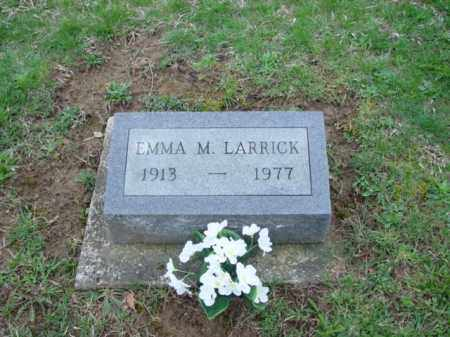 LARRICK, EMMA - Highland County, Ohio | EMMA LARRICK - Ohio Gravestone Photos