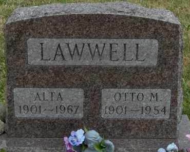 LAWWELL, OTTO M - Highland County, Ohio | OTTO M LAWWELL - Ohio Gravestone Photos