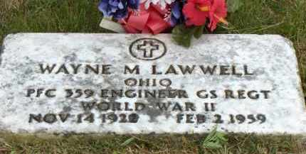 LAWWELL, WAYNE M - Highland County, Ohio | WAYNE M LAWWELL - Ohio Gravestone Photos