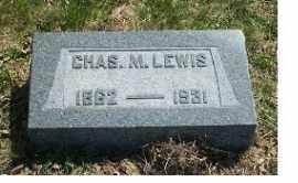 LEWIS, CHAS. M. - Highland County, Ohio | CHAS. M. LEWIS - Ohio Gravestone Photos