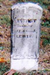 LEWIS, INFANT - Highland County, Ohio | INFANT LEWIS - Ohio Gravestone Photos