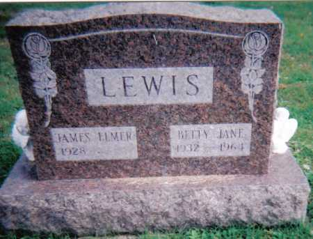 LEWIS, BETTY JANE - Highland County, Ohio | BETTY JANE LEWIS - Ohio Gravestone Photos