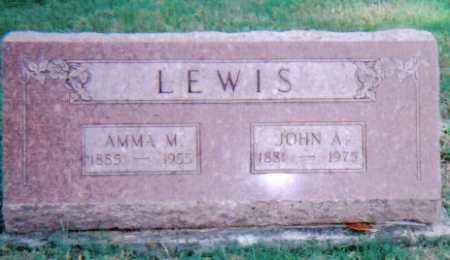 LEWIS, JOHN A. - Highland County, Ohio | JOHN A. LEWIS - Ohio Gravestone Photos