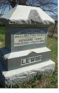 LEWIS, CATHARINE - Highland County, Ohio | CATHARINE LEWIS - Ohio Gravestone Photos